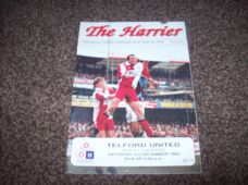 Kidderminster Harriers v Telford United, 1994/95